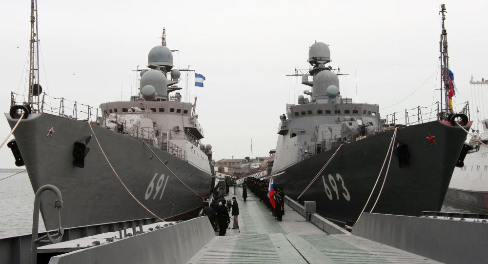 المدمرتين الصاروخيتين تاتارستان وداغستان