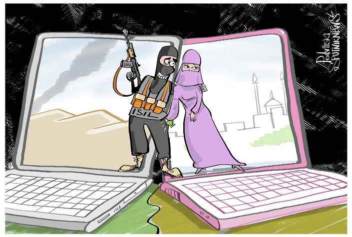داعش والفتيات