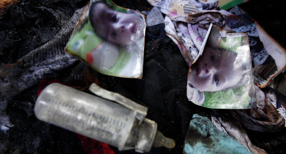 مقتل طفل فلسطيني عمره 18 شهرا