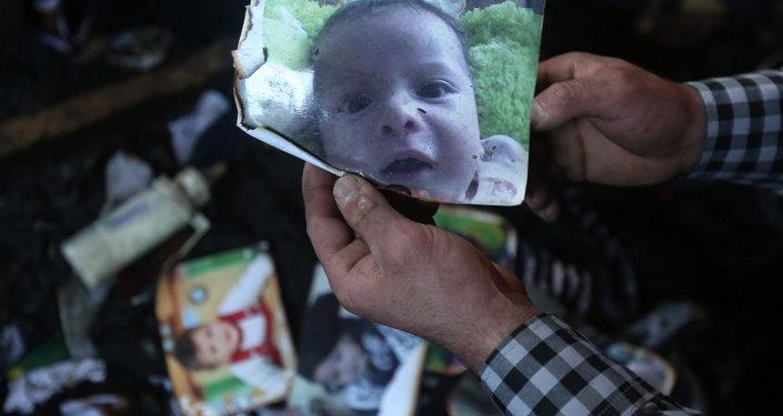 قتل طفل فلسطيني