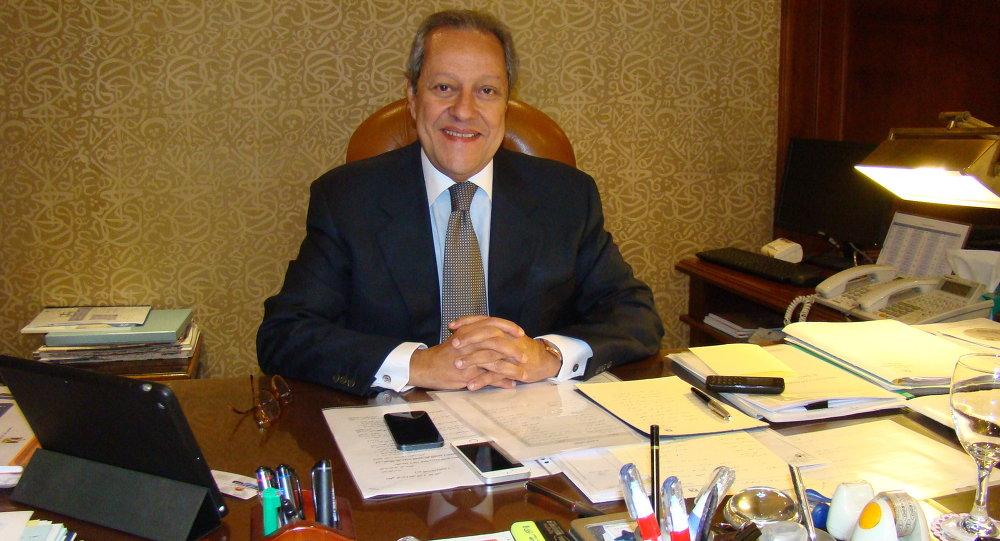 وزير التجارة و الصناعة المصري منير فخري عبد النور