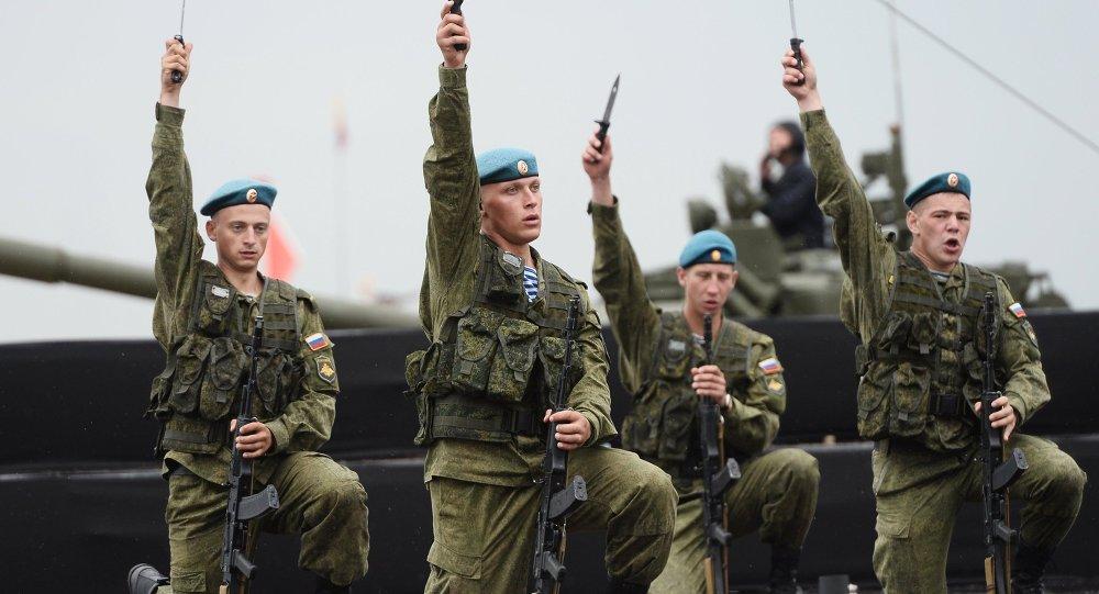افتتاح الألعاب العسكرية الدولية - 2015