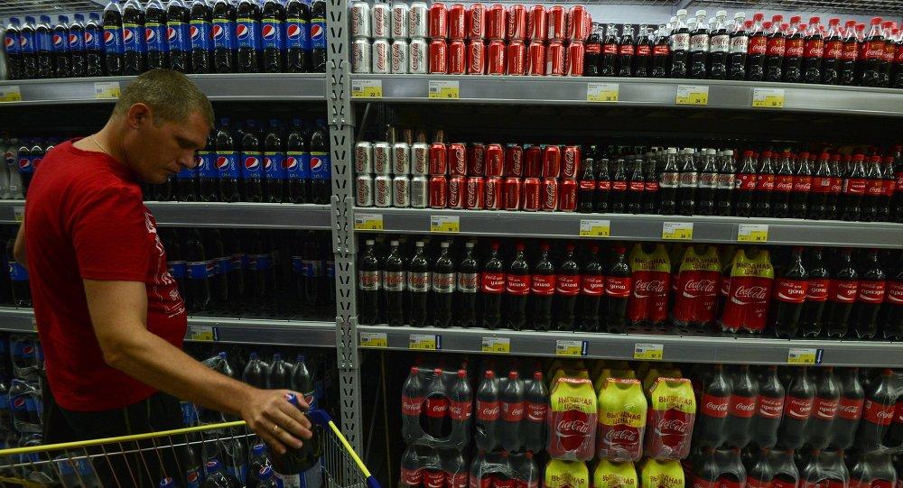 Lenta hypermarket in Novosibirsk