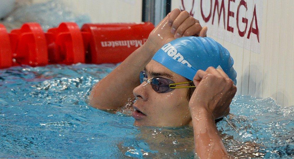 السباح الروسي يفجيني ريلوف