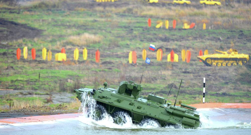 العربة المدرعة BTR-82A