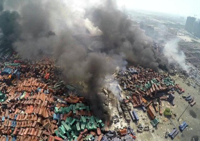 انفجاران في الصين