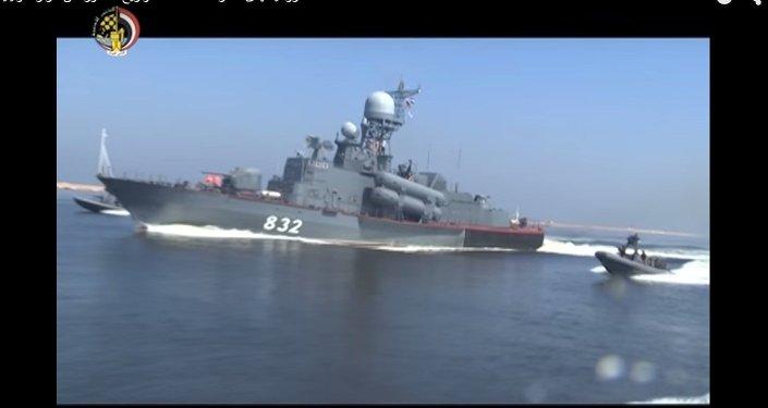 روسيا تهدى مصر أحد لنشات الصواريخ المتطورة من طراز مولينيا