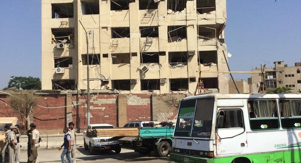 مصر ... مبنى الأمن الوطني بشبرا