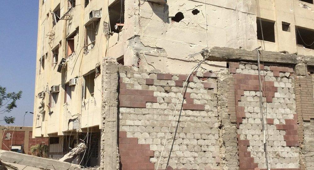 استهداف مقر الأمن الوطني بشبرا الخيمة ـ مصر