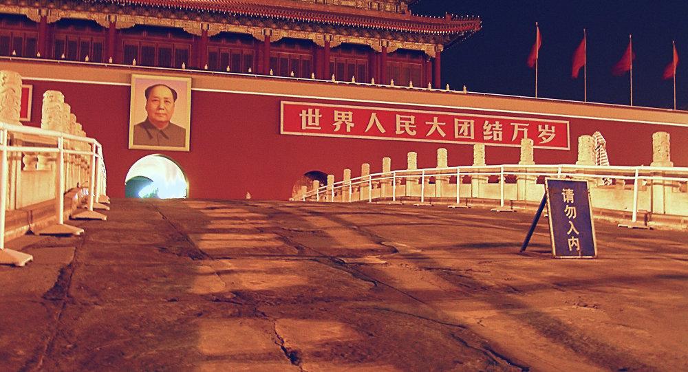 باب الهدوء السماوي في بكين