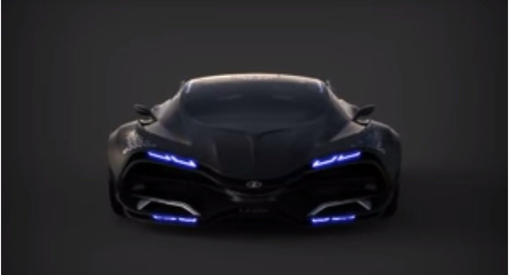 سيارة لادا الحديثة