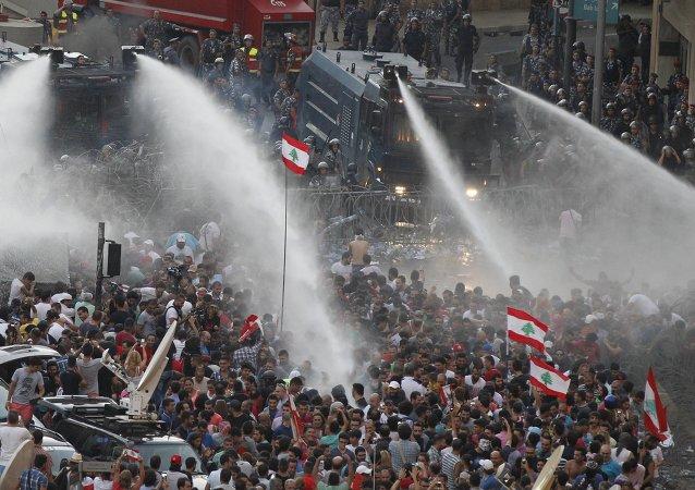 مظاهرات لبنان