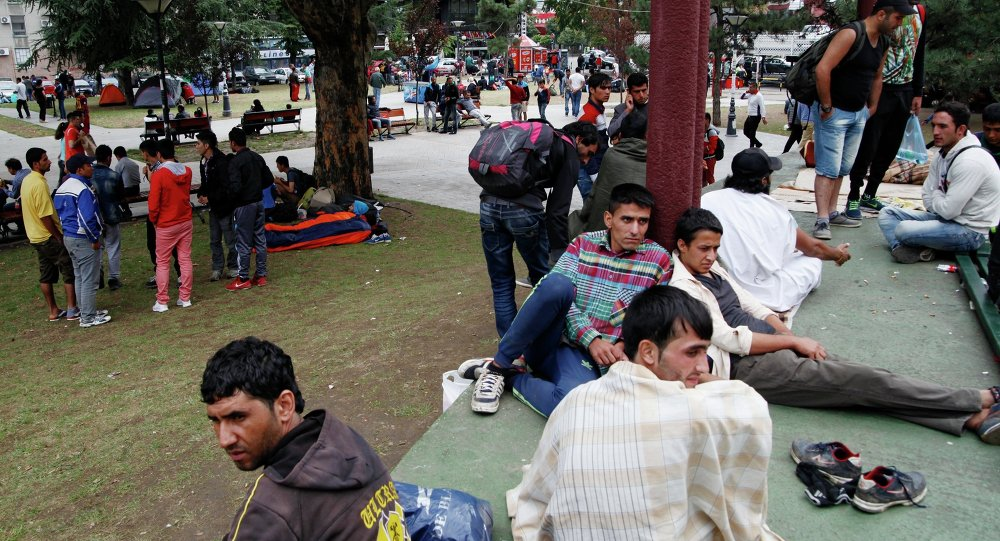 مهاجرون م في بلغراد