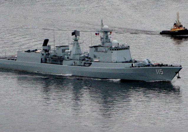 المدمرة البحرية  شنيانغ التابعة للقوات البحرية الصينية