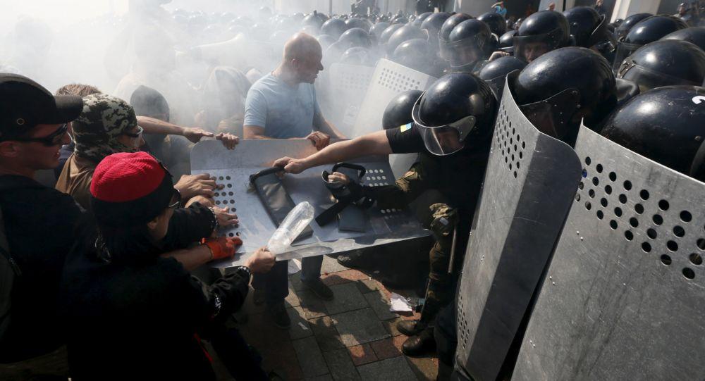 مواجهات في كييف