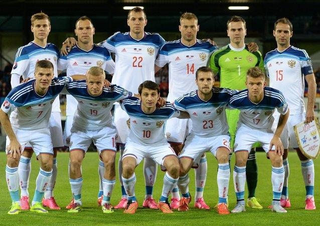 المنتخب الوطني الروسي لكرة القدم
