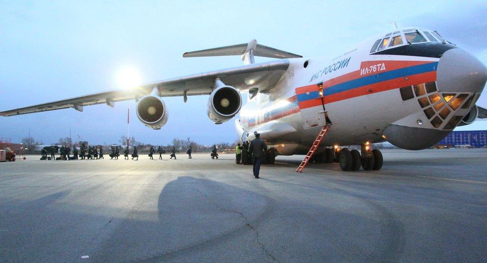 An Il-76tdطائرة