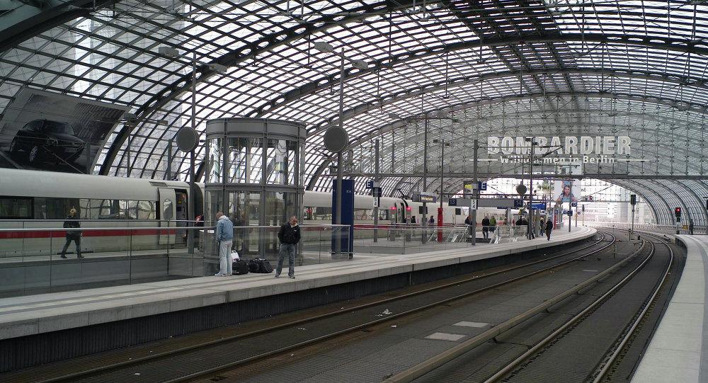 محطة القطارات في برلين