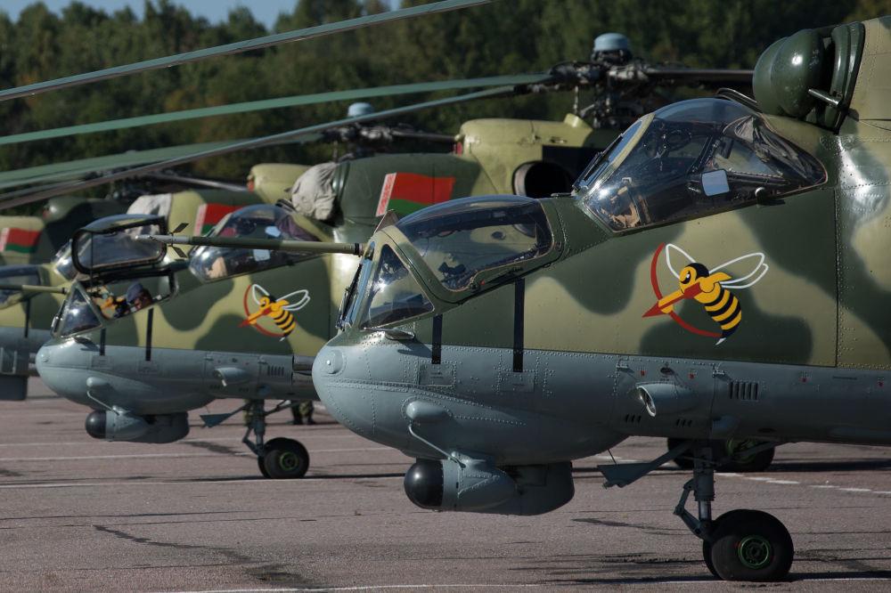 مروحيات  مي - 24 في القوات الجوية البيلاروسية