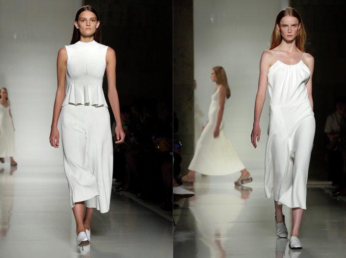 أزياء من تصميم فيكتوريا بيكهام - المصممة البريطانية الشهيرة