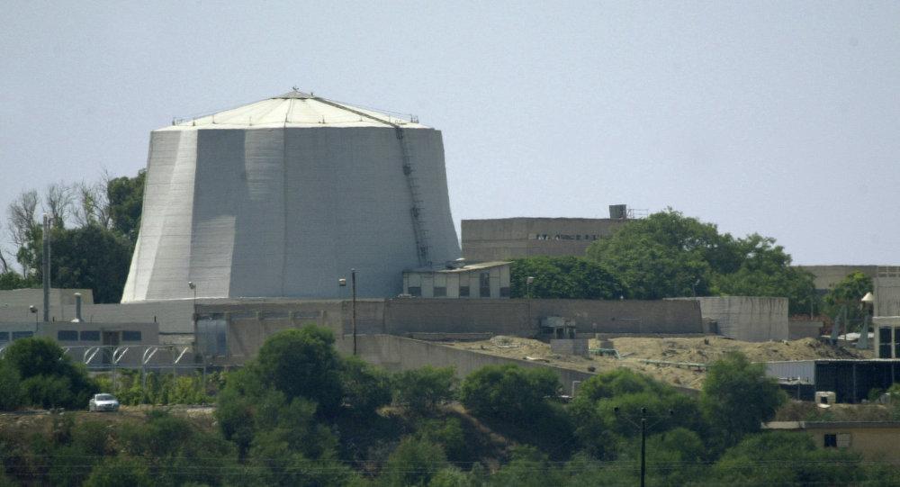 مفاعل نووي إسرائيلي ناحال سوريك