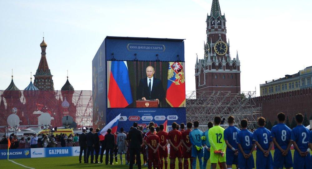 إطلاق العد التنازلي لمونديال 2018 في روسيا