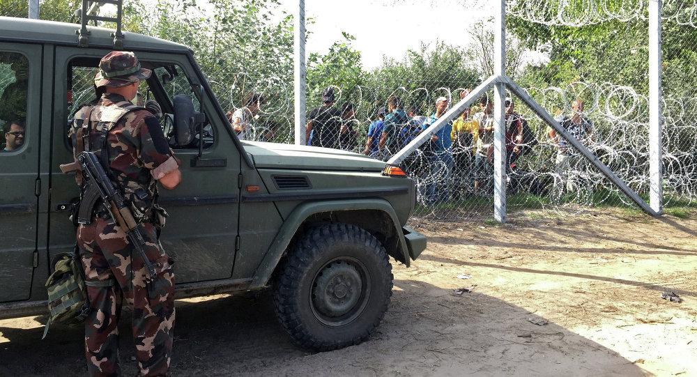 الحدود بين صربيا وهنغاريا