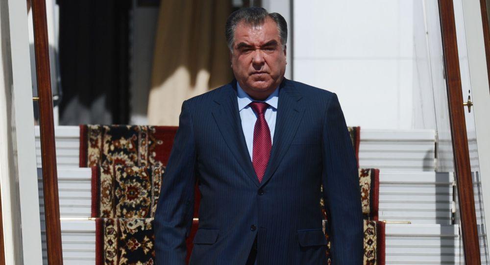 الرئيس الطاجيكي