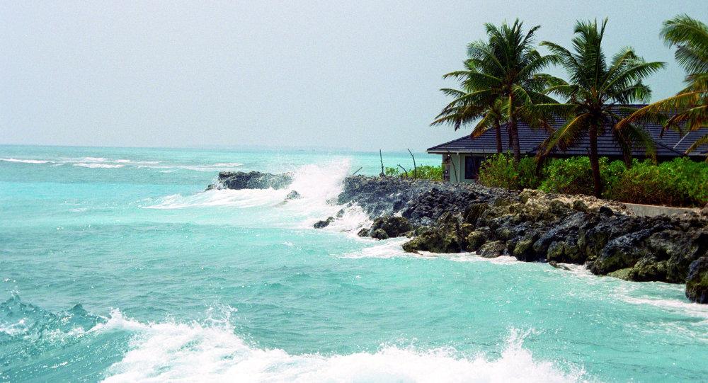 إحدى جزر المالديف