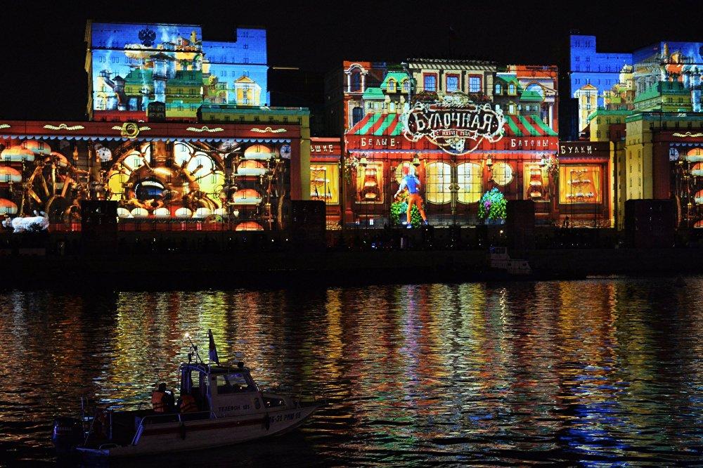 إفتتاح مهرجان موسكو الدولي للضوء