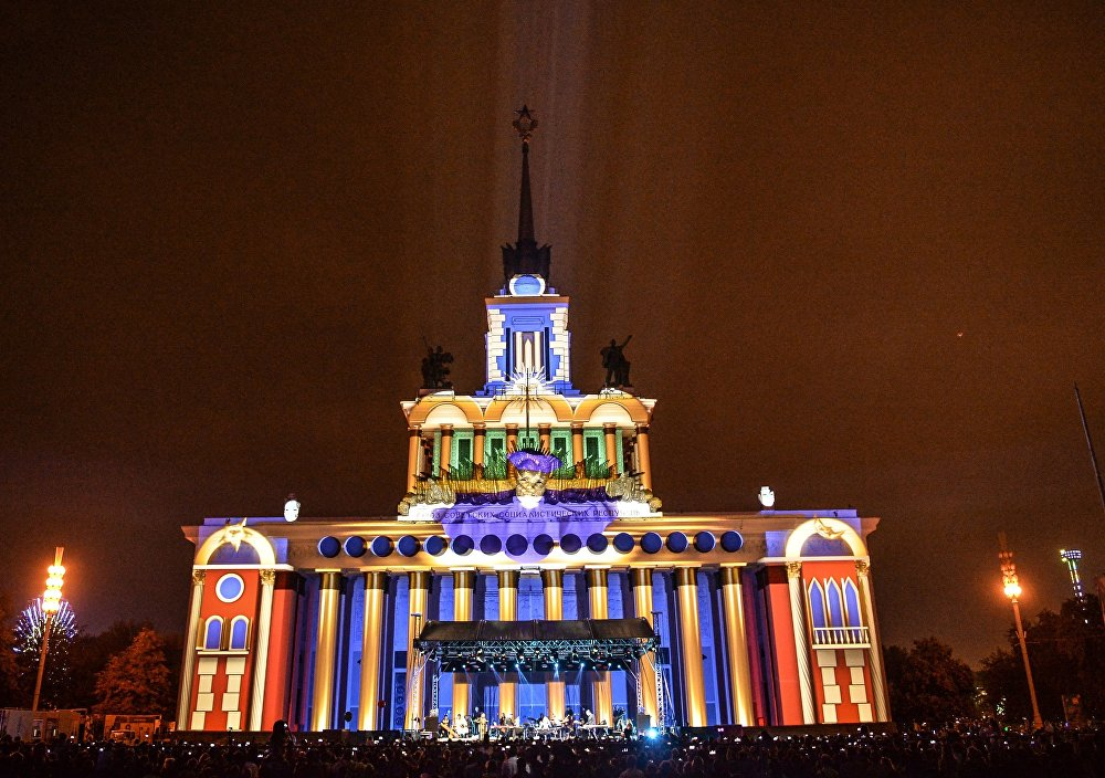 مهرجان موسكو الدولي للضوء