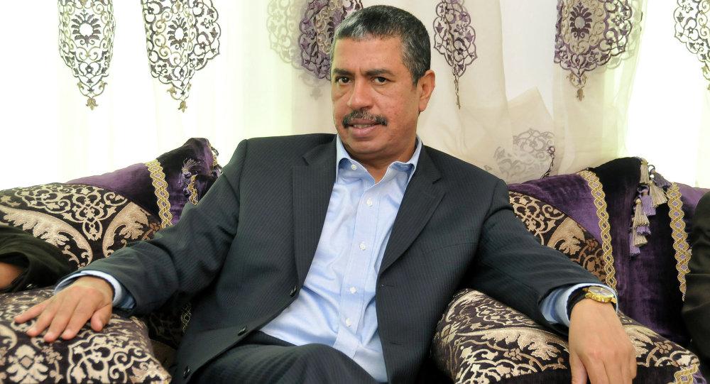 رئيس الوزراء اليمن خالد بحاح