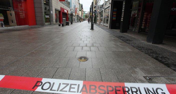 إبطال مفعول قنبلة من الحرب العالمية 2 في ألمانيا