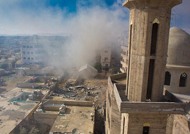 نزاع عسكري في سوريا