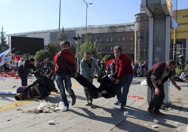 ضحايا انفجار أنقرة