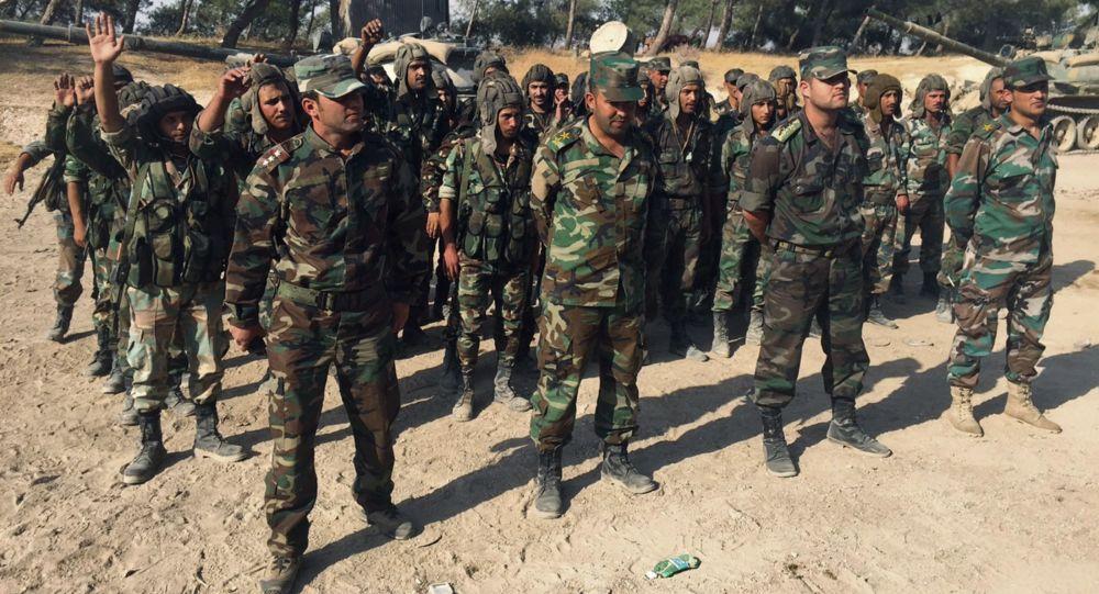 الجيش السوري في محافظة حماة