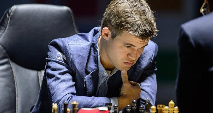 بطل العالم للشطرنج ماغنوس كارلسن