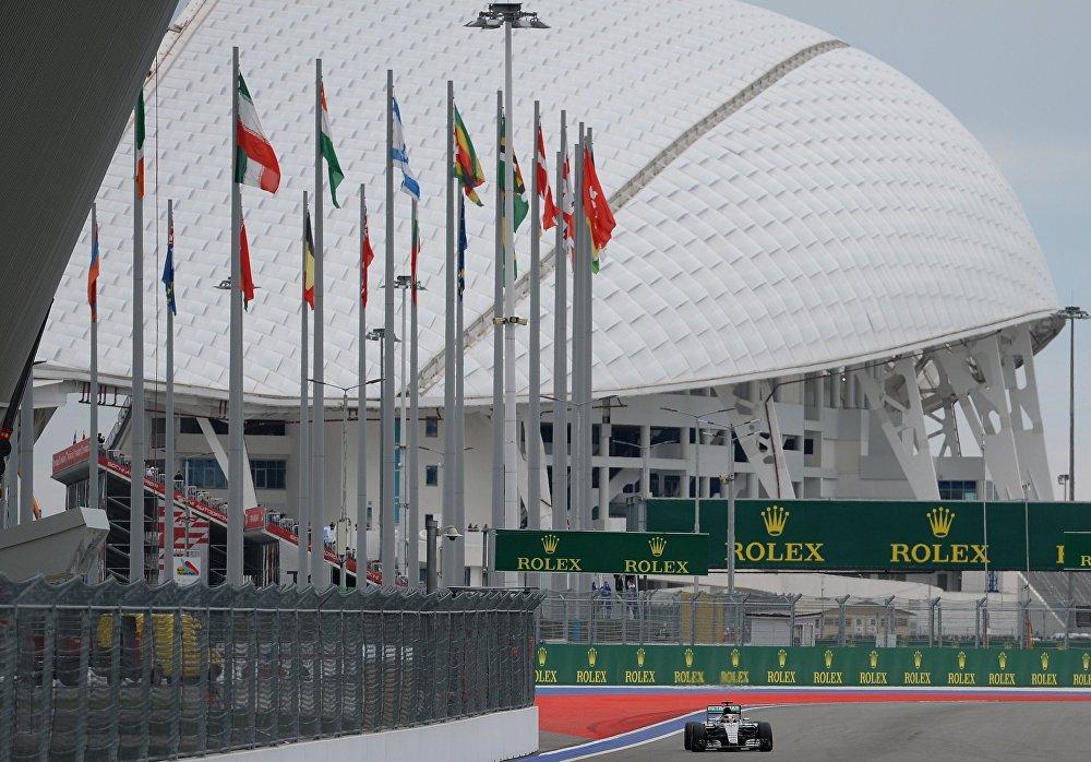 سباق جائزة روسيا الكبرى لـفورمولا-1 في سوتشي