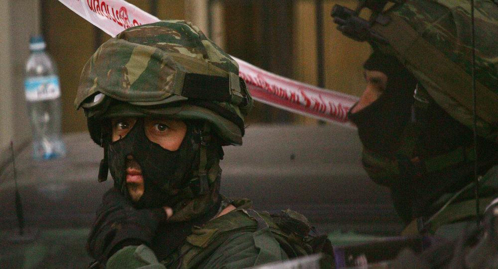 ضابط شرطة اسرائيلي