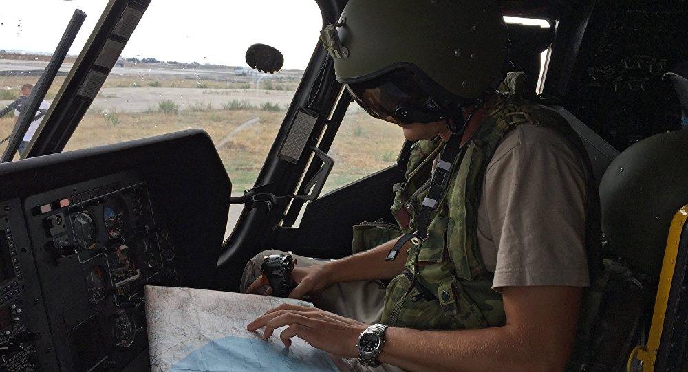 طيار روسي في سوريا