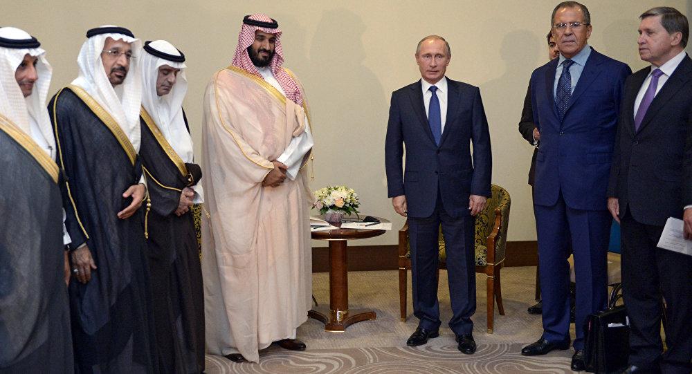 الرئيس بوتين يلتقي وزير الدفاع السعودي محمد بن سلمان