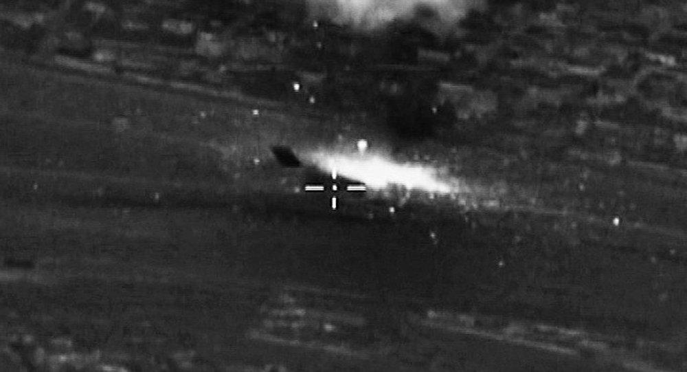 طائرات روسية توجه الضربات لمواقع داعش في سوريا