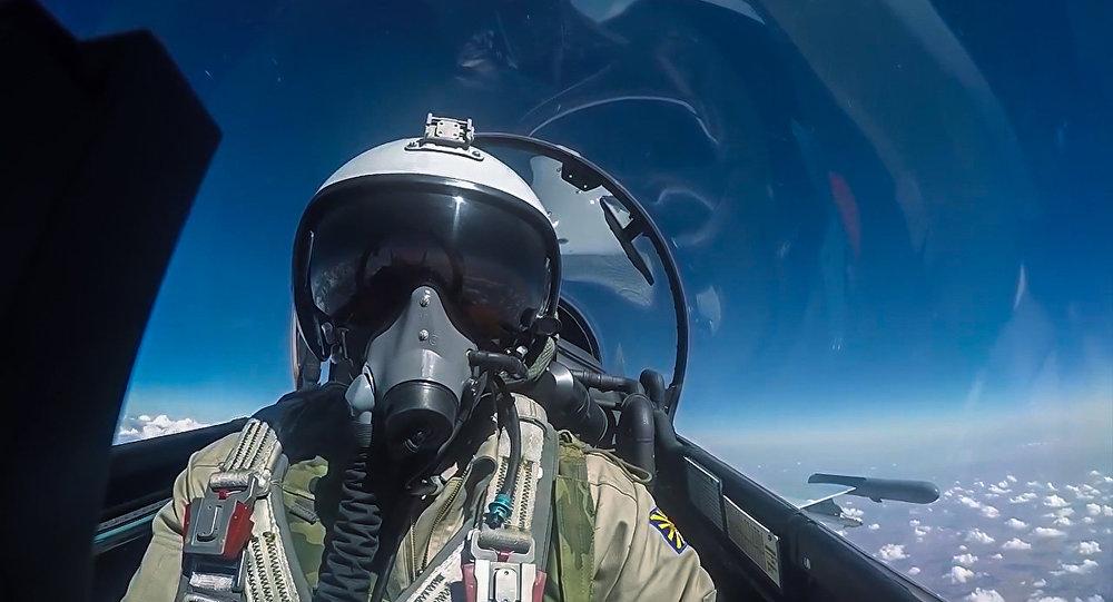 طائرة روسية في سماء سوريا