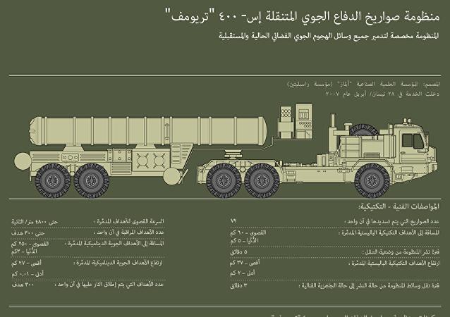 منظومة صواريخ الدفاع الجوي المتنقلة إس- 400 تريومف