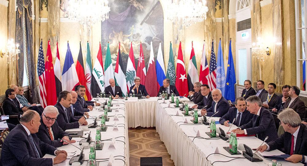 محادثات فيينا حول الأزمة السورية