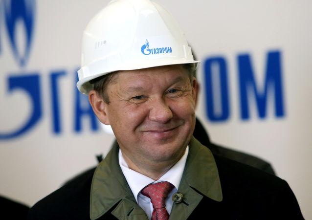 أليكسي ميلير، رئيس مجلس إدارة شركة غازبروم الروسية
