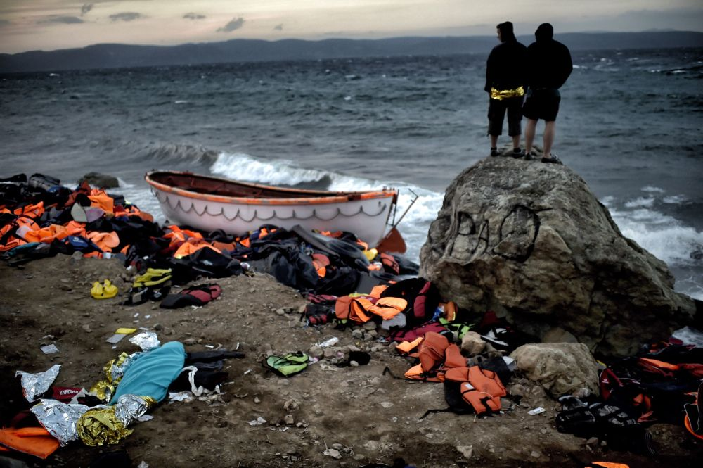 اليونان والمهاجرون
