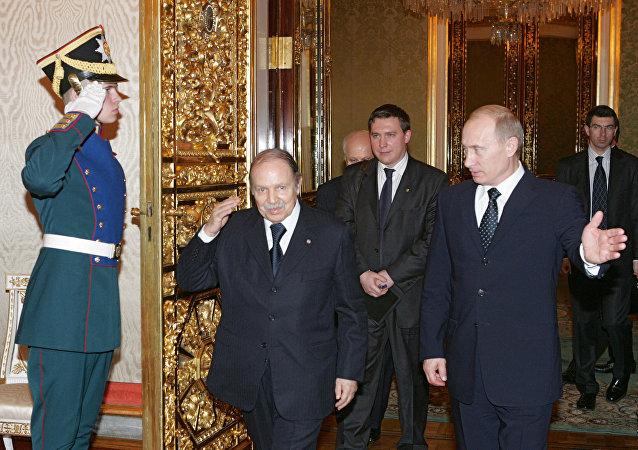 لقاء بوتين وبوتفليقة