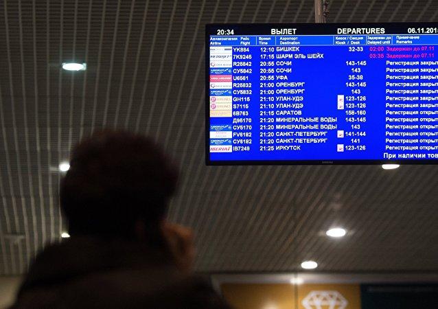 تعليق الرحلات الجوية إلى مصر