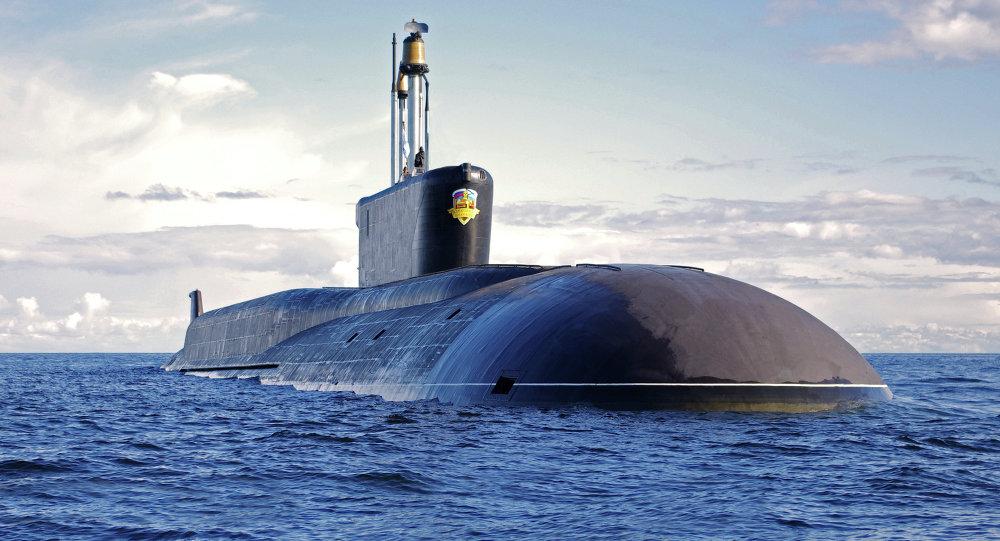 الغواصة النووية من مشروع بورى